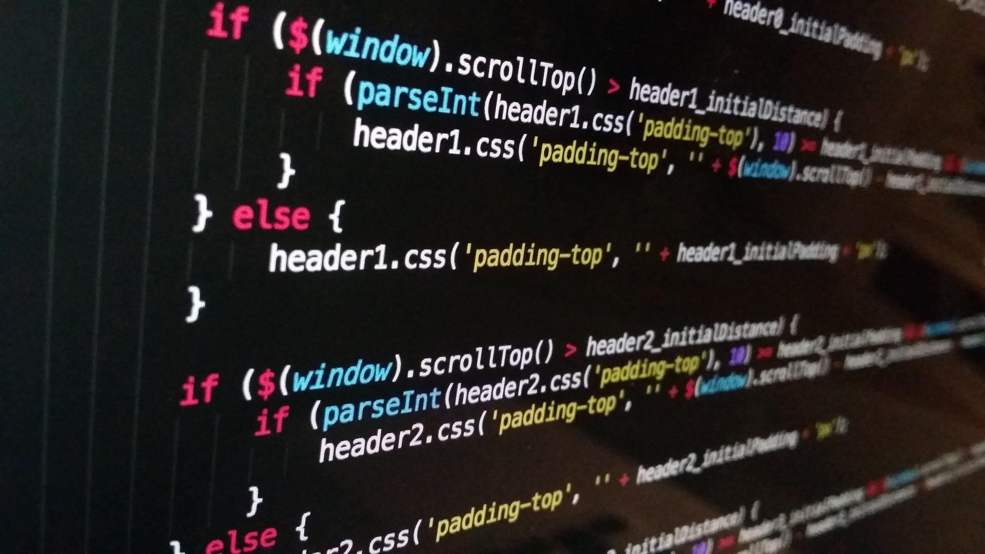 dati per la programmazione