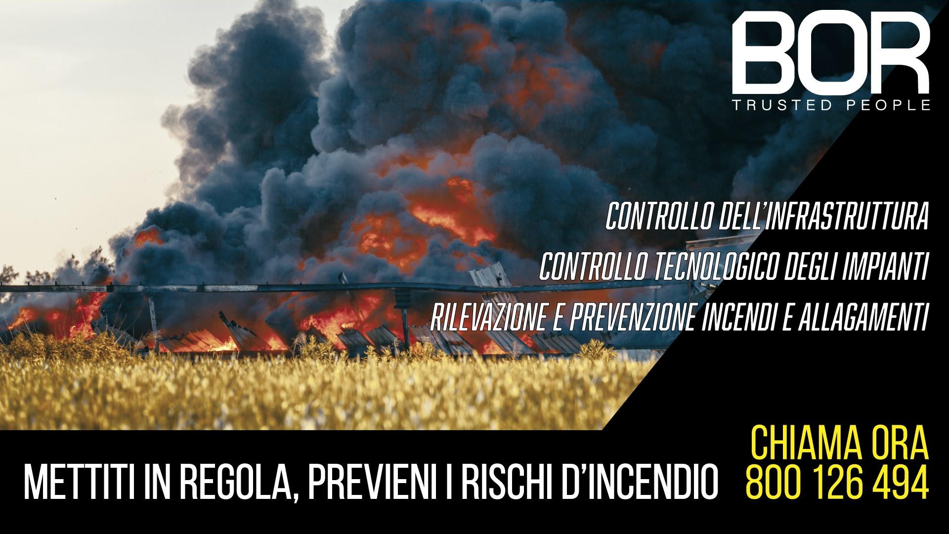 Prevenzione incendi: le disposizioni Ministeriali introducono l'obbligo di installazione di impianti audiovisivi e tecnologici per gli impianti di gestione dei rifiuti