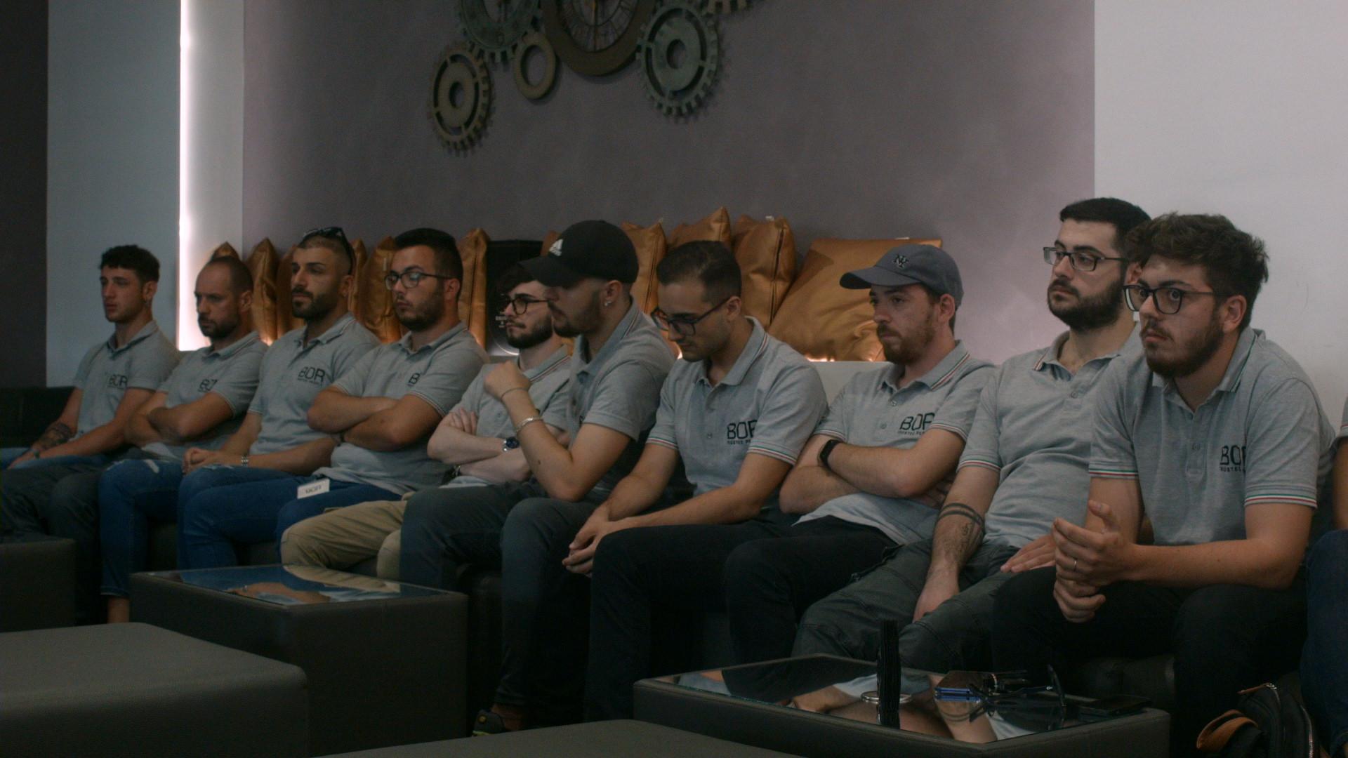 Panoramica Team BOR