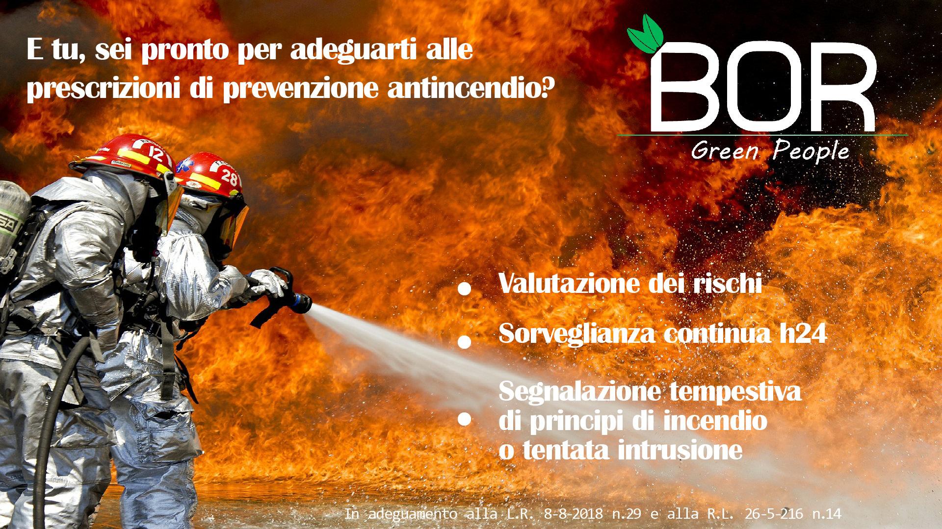 Quali sono gli interventi di adeguamento alle prescrizioni di prevenzione antincendio