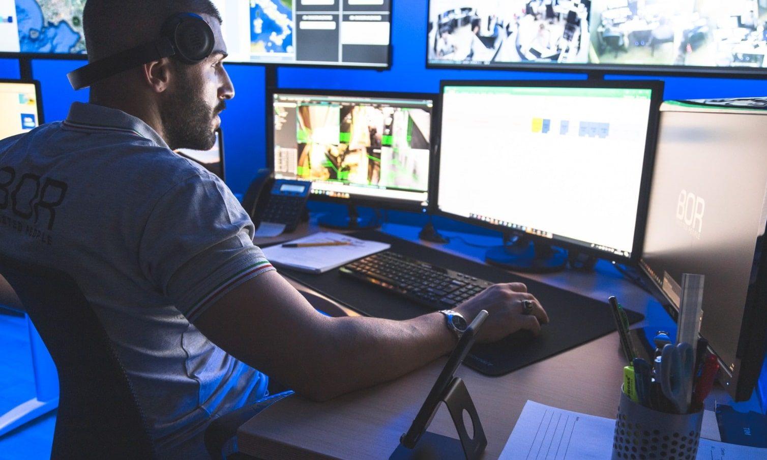 Postazione di monitoraggio Nicola Iodice