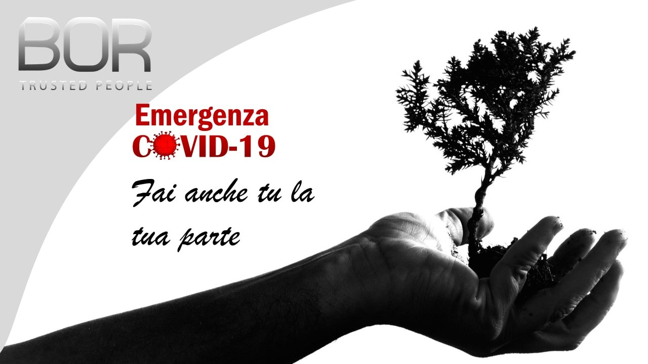 Emergenza Covid-19, BOR dona 100 pacchi alle famiglie in difficoltà