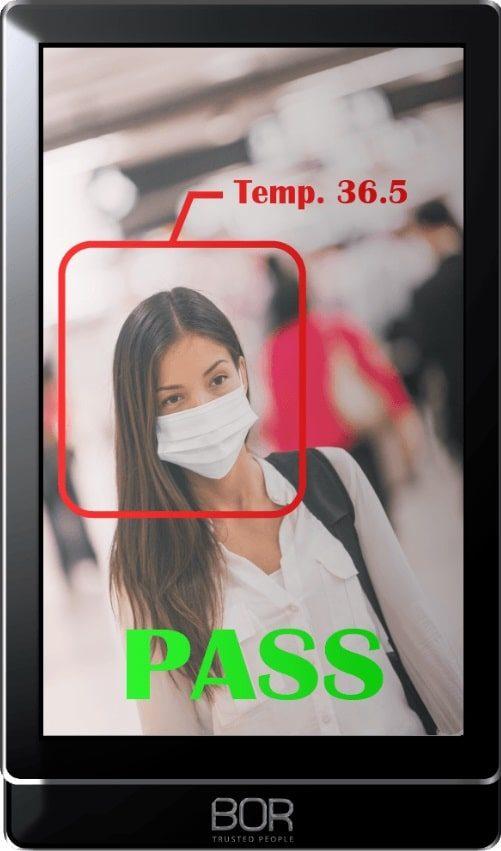 Monitor per il controllo accessi