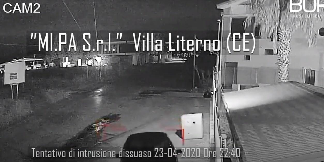 """Villa Literno tentano l'assalto presso l'azienda """"MI.PA.S.r.l."""""""