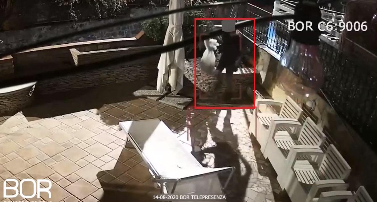 Secondo tentativo di intrusione sventato in meno di 15 giorni in una villa a POZZUOLI (NA) da BOR