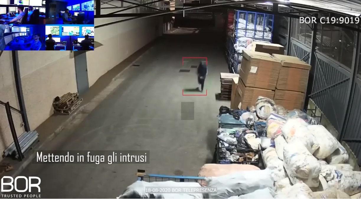 CAIVANO (NA) - Intrusione pianificata ai danni di un'azienda dissuasa dal Custode Virtuale BOR