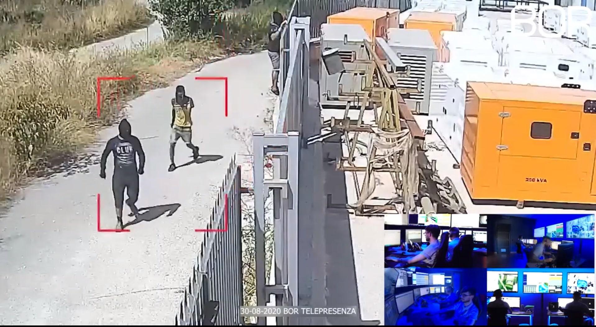 Ladri in azione in pieno giorno allontanati dal Custode Virtuale BOR