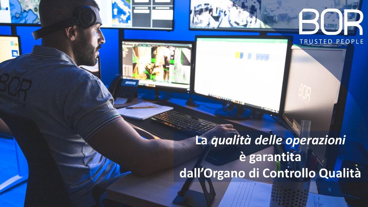 Come fa BOR a garantire la qualità delle operazioni?