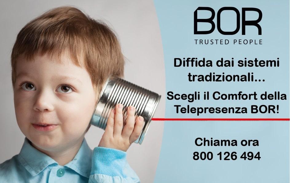 I principali vantaggi per cui dovresti scegliere la Tele-presenza BOR!