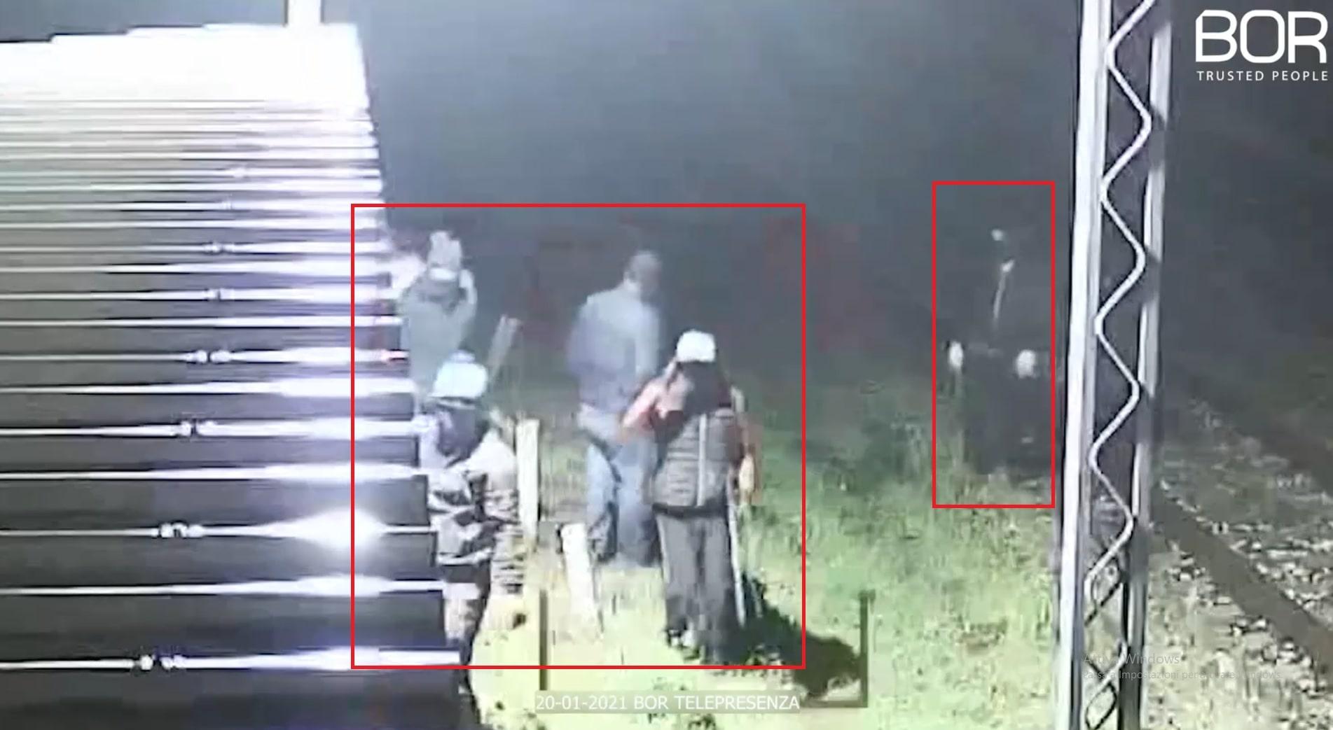 Capua (CE): banda di ladri allontanata da una villa in meno di trenta secondi!