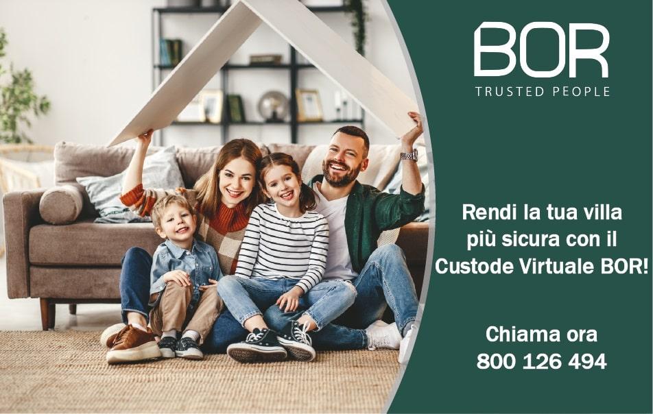 Rendi la tua villa più sicura con il Custode Virtuale BOR!