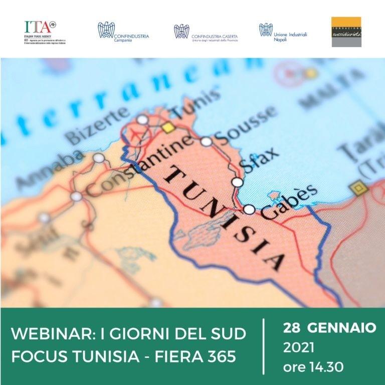 WEBINAR: I GIORNI DEL SUD FOCUS TUNISIA – FIERA 365