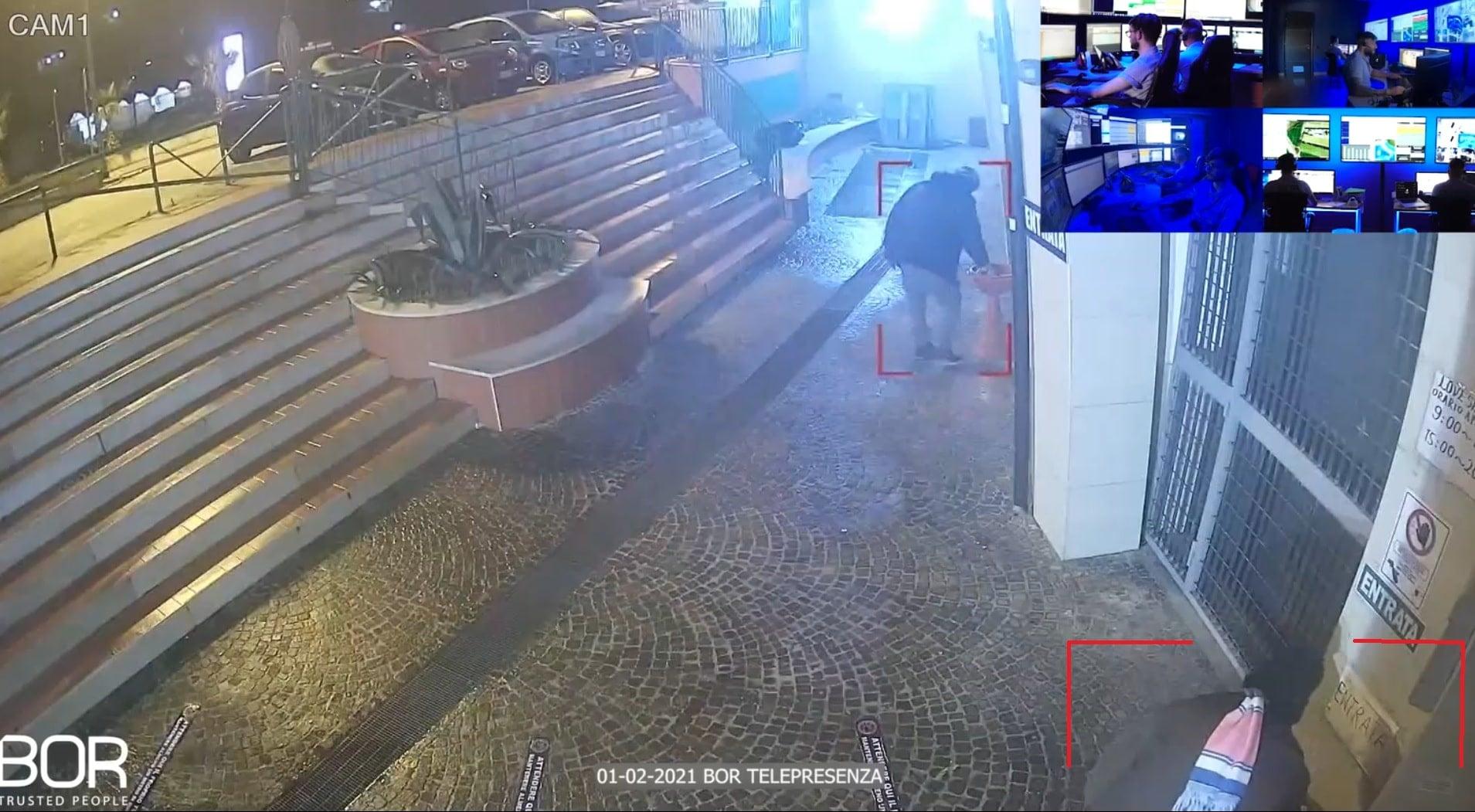 Castel Volturno (CE): individui sospetti allontanati in tempo reale dal Custode Virtuale BOR!