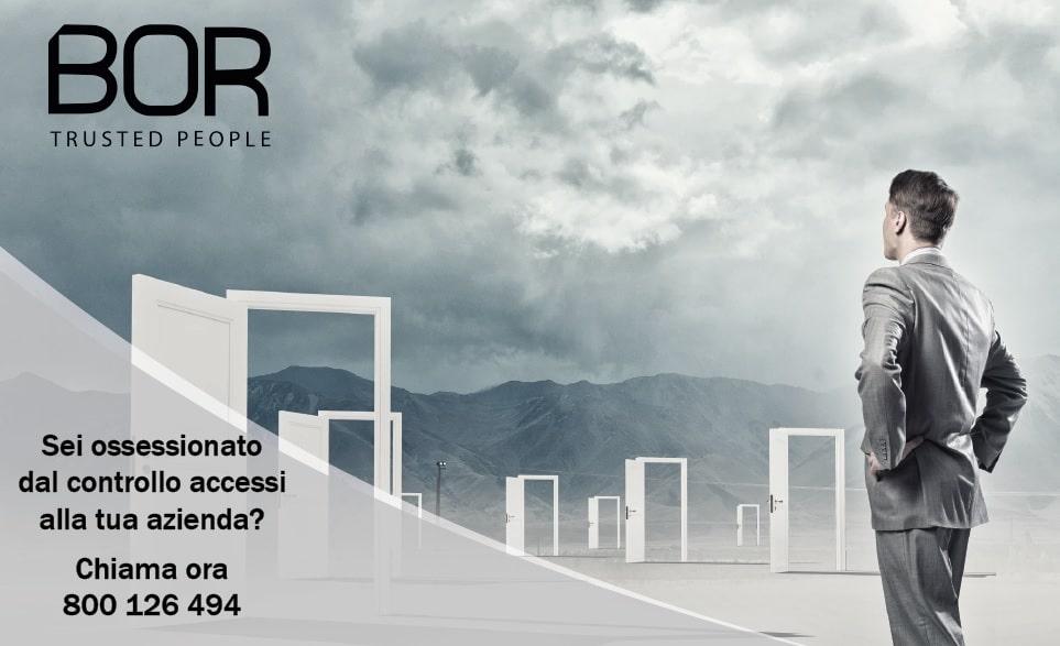 Sei ossessionato dal controllo accessi alla tua azienda?