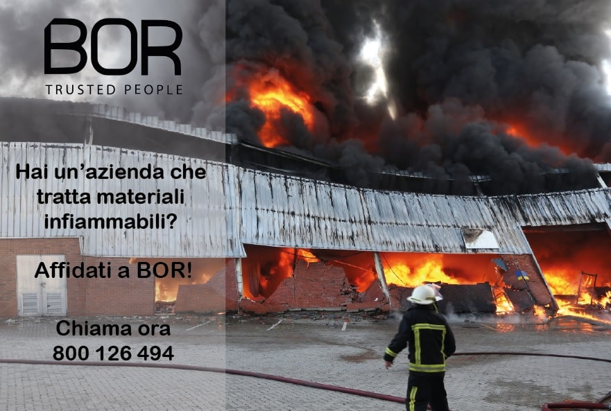 Come prevenire incendi nelle aziende che trattano materiali infiammabili