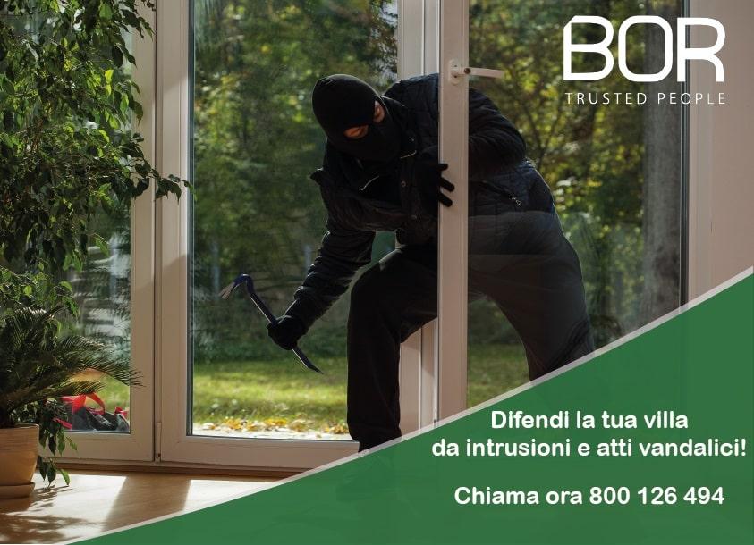 Come difendere una villa da intrusioni e atti vandalici