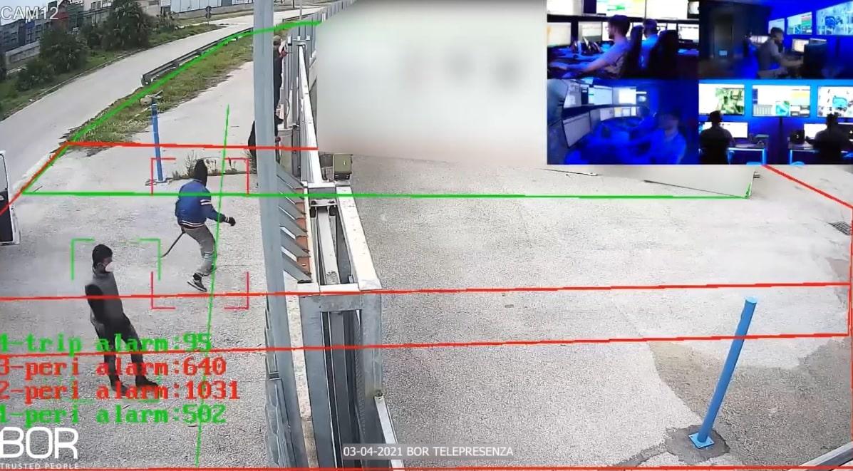 Acerra (NA): Intrusione sventata in pieno giorno dal Custode Virtuale BOR!