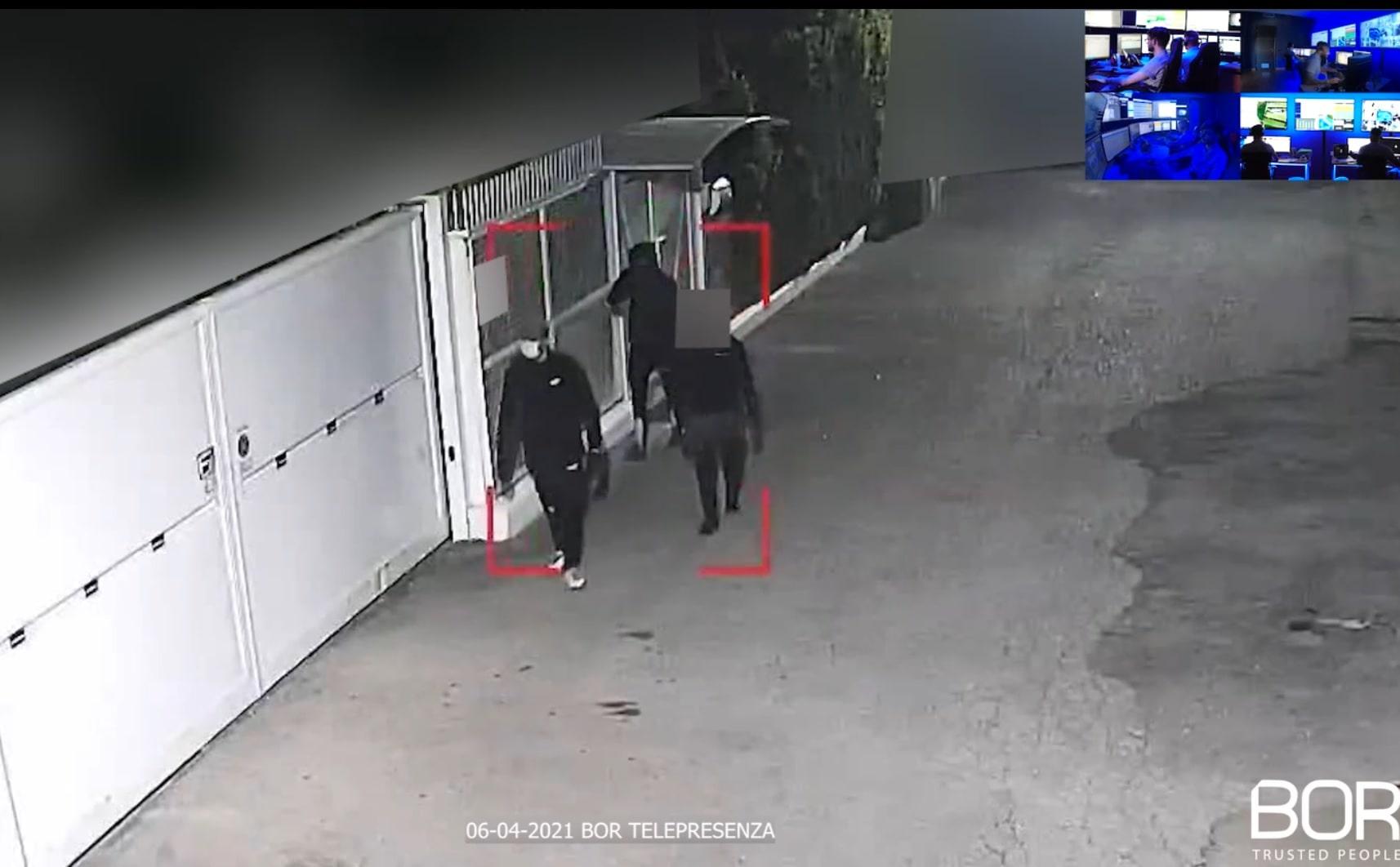 Caserta: furto sventato in un deposito dal Custode Virtuale BOR!