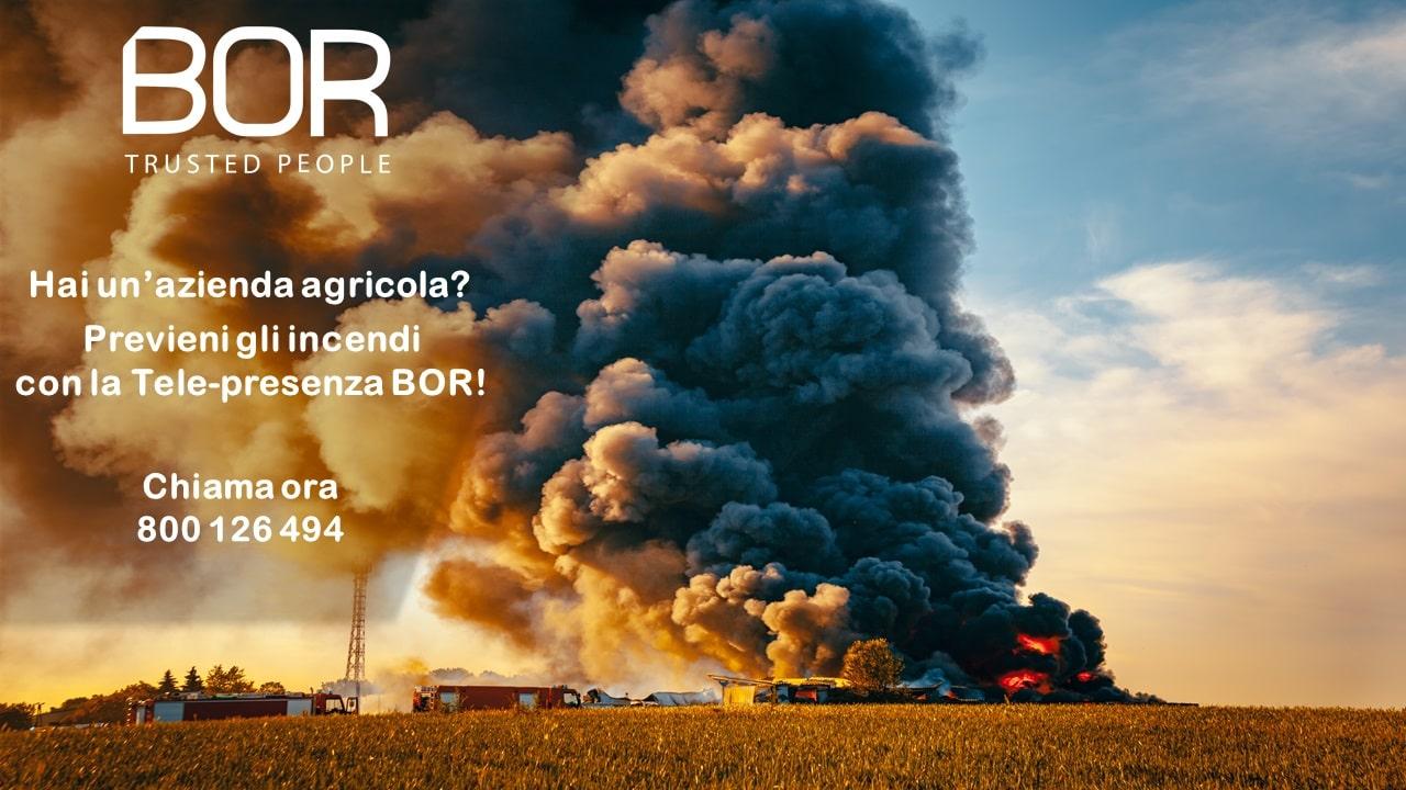 Come prevenire gli incendi in aziende agricole