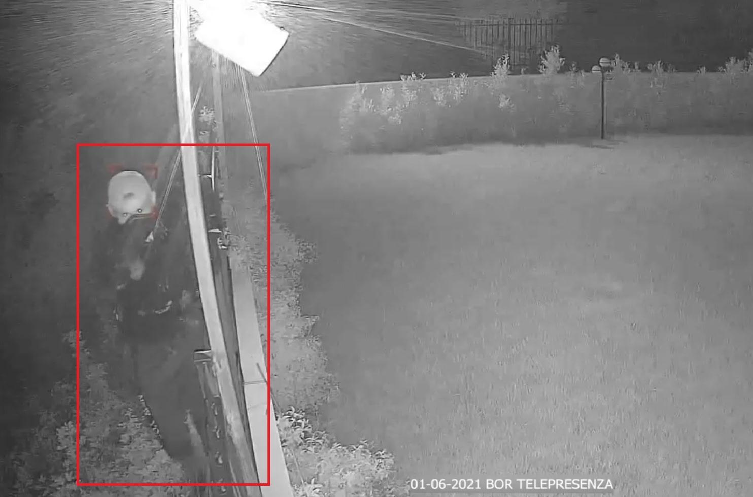 Rapina sventata in villa privata dal Custode Virtuale BOR mentre i proprietari erano in casa