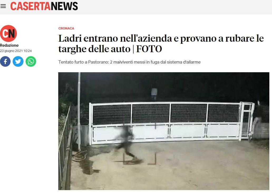 Articolo su CasertaNews