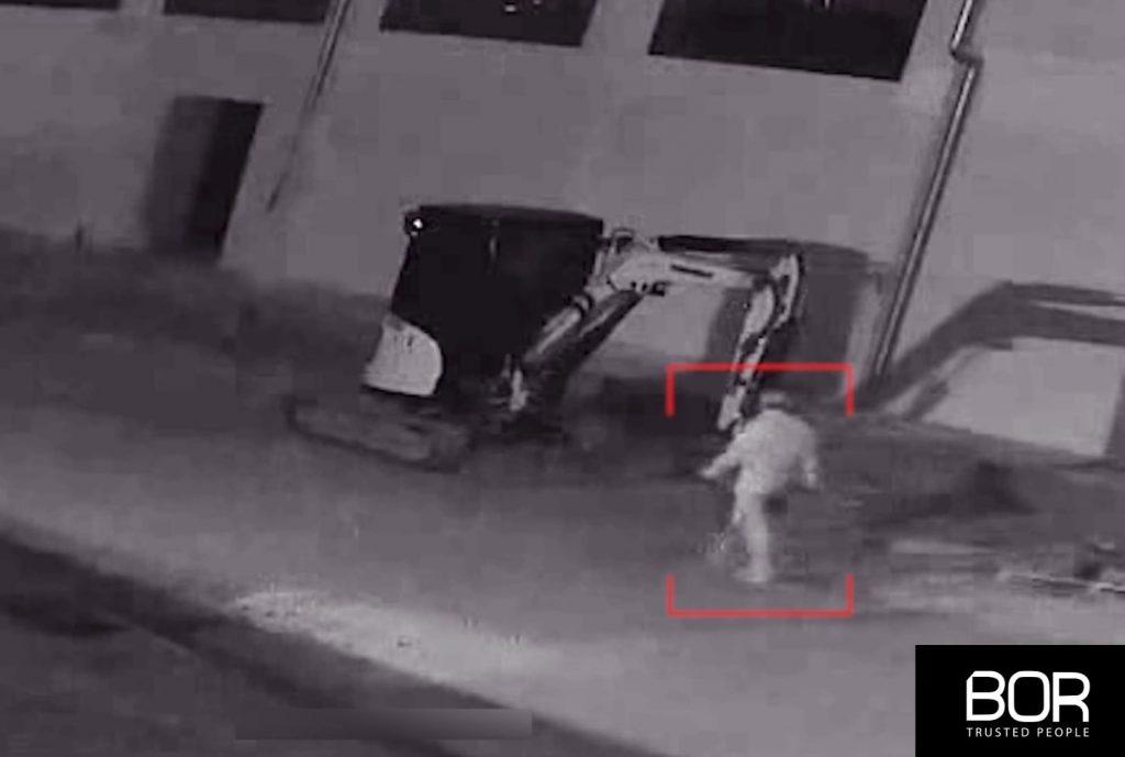 Tentativo di furto sventato presso un cantiere edile in provincia di Caserta